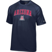 Champion Men's Arizona Wildcats Navy Logo T-Shirt