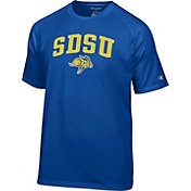 Champion Men's South Dakota State Jackrabbits Blue Logo T-Shirt