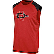 Champion Men's San Diego State Aztecs Scarlet Muscle Tee