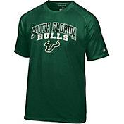Champion Men's South Florida Bulls Green T-Shirt