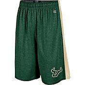 Champion Men's South Florida Bulls Green Training Shorts