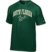 Champion Men's South Florida Bulls Green Word Logo T-Shirt