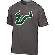 Champion Men's South Florida Bulls Grey Big Logo T-Shirt