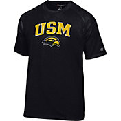 Champion Men's Southern Miss Golden Eagles Black Logo T-Shirt
