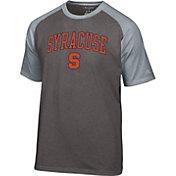Champion Men's Syracuse Orange Grey Logo T-Shirt