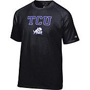 Champion Men's TCU Horned Frogs Black Word Logo T-Shirt
