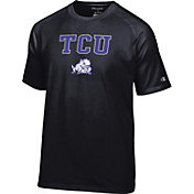 Champion Men's TCU Horned Frogs Black Word Logo T-Shirt
