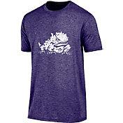 Champion Men's TCU Horned Frogs Purple Touchback T-Shirt