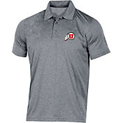 Champion Men's Utah Utes Grey Classic Polo