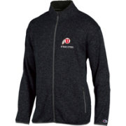 Champion Men's Utah Utes Grey Playbook Full-Zip Jacket