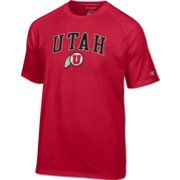 Champion Men's Utah Utes Crimson Logo T-Shirt