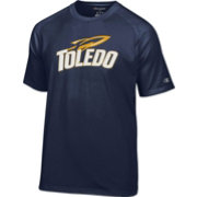 Champion Men's Toledo Rockets Midnight Blue Big Logo T-Shirt