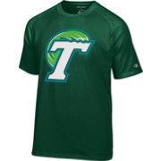 Champion Men's Tulane Green Wave Olive Big Logo T-Shirt