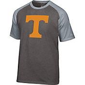 Champion Men's Tennessee Volunteers Grey Big Logo T-Shirt