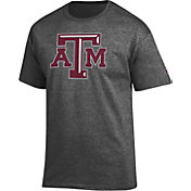 Champion Men's Texas A&M Aggies Grey Big Soft T-Shirt