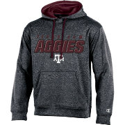 Champion Men's Texas A&M Aggies Grey T-Formation Hoodie