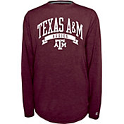 Champion Texas A&M Aggies Maroon Pursuit Long Sleeve Shirt