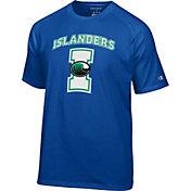 Champion Men's Texas A&M-Corpus Christi Islanders Blue Big Logo T-Shirt