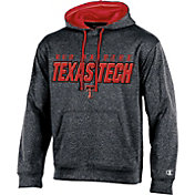 Champion Men's Texas Tech Red Raiders Grey T-Formation Hoodie