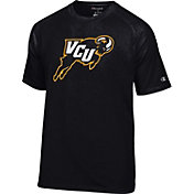 Champion Men's Virginia Commonwealth Rams Black Big Logo T-Shirt
