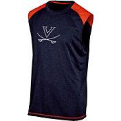 Champion Men's Virginia Cavaliers Blue Muscle Tee