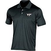 Champion Men's Virginia Tech Hokies Black Classic Polo