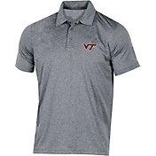 Champion Men's Virginia Tech Hokies Grey Classic Polo