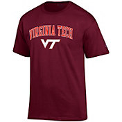 Champion Men's Virginia Tech Hokies Maroon Big Soft T-Shirt