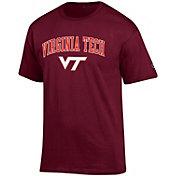 Champion Men's Virginia Tech Hokies Maroon Big Soft T-Shirt