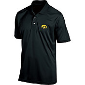 Champion Men's Iowa Hawkeyes Black Classic Polo