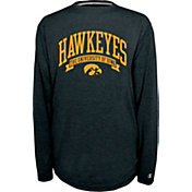 Champion Iowa Hawkeyes Black Pursuit Long Sleeve Shirt