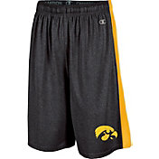 Champion Men's Iowa Hawkeyes Black Training Shorts