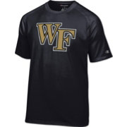 Champion Men's Wake Forest Demon Deacons Black Big Logo T-Shirt
