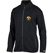 Champion Men's Iowa Hawkeyes Grey Playbook Full-Zip Jacket