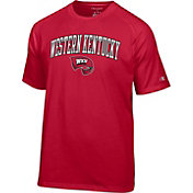 Champion Men's Western Kentucky  Hilltoppers Red Logo T-Shirt