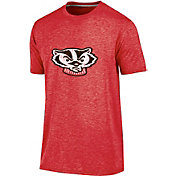 Champion Men's Wisconsin Badgers Red Touchback T-Shirt
