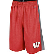 Champion Men's Wisconsin Badgers Red Training Shorts