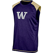 Champion Men's Washington Huskies Purple Muscle Tee