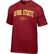 Champion Men's Iowa State Cyclones Cardinal Logo T-Shirt