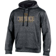 Champion Men's West Virginia Mountaineers Grey T-Formation Hoodie