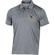 Champion Men's West Virginia Mountaineers Grey Classic Polo