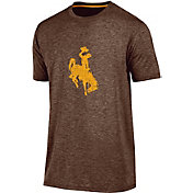 Champion Men's Wyoming Cowboys Brown Touchback T-Shirt