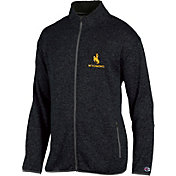 Champion Men's Wyoming Cowboys Grey Playbook Full-Zip Jacket