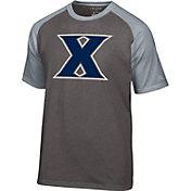 Champion Men's Xavier Musketeers Grey Big Logo T-Shirt