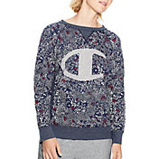 Champion Women's Heritage French Terry Crew Sweatshirt