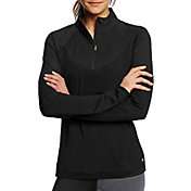 Champion Women's Marathon Quarter Zip Long Sleeve Shirt