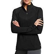 Champion Women's Marathon Quarter Zip Long Sleeve Shirt