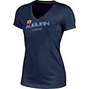 Champion Women's Auburn Tigers Blue Success V-Neck T-Shirt
