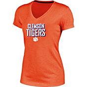 Champion Women's Clemson Tigers Orange Success V-Neck T-Shirt