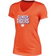 Champion Women's Clemson Tigers Orange Success V-Neck T-Shirt